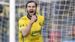 Zlín zvládl první zápas finále skupiny o Evropu, o vítězství rozhodl Poznar