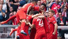 Bayern slaví sedmý titul v řadě, o svém triumfu rozhodl až v posledním kole