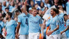 Manchester City napravil zaváhání z minulého kola a vyhrál v Crystal Palace