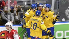 Švédové zdolali Švýcarsko, Rusové obrátili duel s Lotyši