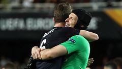 Další anglické finále. Čech si ve finále Evropské ligy zahraje s Arsenalem proti Chelsea