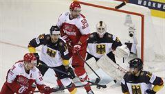 Hokejisté Německa jsou na MS stoprocentní, naopak Švédové bodovali vůbec poprvé