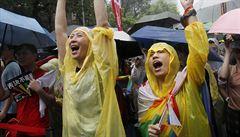 Tchaj-wan povolil sňatky homosexuálů. Jako první asijská země