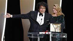 V Cannes se předávaly filmové ceny. Zlatou palmu získalo jihokorejské drama Parazit