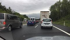 Přes Česko se přesouvá konvoj amerických vojáků, omezil dopravu na dálnici D5