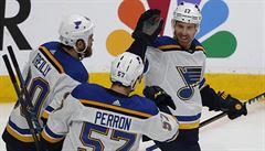 NHL: St. Louis rozdrtilo San Jose. Dělí ho jedna výhra od finále