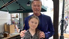 Arnold a Greta. Dva bojovníci za klima se sešli ve Vídni, Schwarzenegger složil aktivistce poklonu