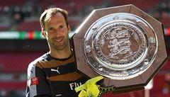 Čech dobyl s Arsenalem první trofej, v bitvě o Superpohár vynuloval Chelsea