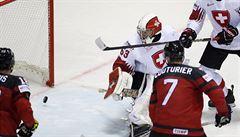 Švýcaři byli od semifinále 0,4 sekundy. Nakonec ale slaví v prodloužení Kanada