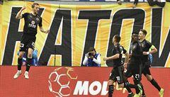 Sešívaní slaví zisk doublu. Po ligovém triumfu se Slavia raduje z výhry v poháru