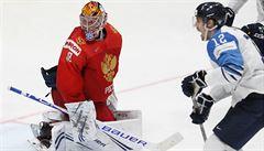 Rusko - Finsko 0:1. Seveřané šokovali Bratislavu, sborná si zahraje jen o bronz