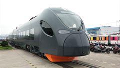 Čínské vlaky vyjedou přes Česko dobýt EU. Podívejte se na stroje za 5 miliard