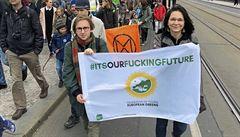 Nebudeme spokojení, dokud se klimatická krize nevyřeší, říká mluvčí demonstrujících středoškoláků