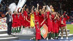 Ligu národů ovládli Portugalci, duel o třetí místo vyhrála Anglie