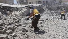 Rusko podle syrských rebelů nasadilo v Idlibu speciální jednotky. Rusové to odmítají
