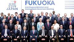 Rostoucí napětí v obchodních vztazích ohrožuje ekonomický růst, míní ministři G20