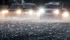 Déšť může rozvodnit menší toky na jihu Čech, od pondělí hrozí vysoká voda i v Jeseníkách a Beskydech