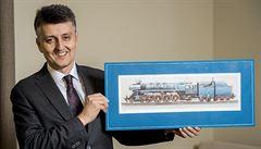 Vlaky v Česku pojedou až 320 km/h, říká šéf správců železnice Svoboda