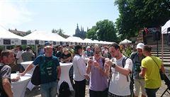 Bavoři představili na Pražském hradě své echt pšeničné pivo