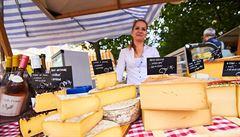 Ústřice, koláče i šumivá vína. Francouzský trh na Kampě přichystal novinky