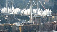 O nebezpečí zřícení janovského mostu měl vědět jeho provozovatel i italská vláda už v roce 2014