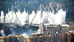 VIDEO: Italská prokuratura poprvé zveřejnila dosud tajné záběry pádu janovského mostu
