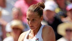 Plíšková přišla o šanci být světovou jedničkou, Kvitová postoupila do čtvrtfinále