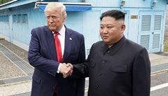 Trump nabídl Kim Čong-unovi cestu na palubě Air Force One. To překvapilo i ty nejzkušenější diplomaty