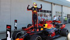 Verstappen jako první rozbil nadvládu Mercedesu. V Rakousku skončil druhý před Leclerkem