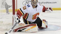 NHL: Brankář Rittich vychytal Calgary další výhru. Kanadský klub zvítězil posedmé v řadě