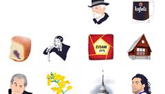 Fernet, paštika i výlet do Tater. Mladá designérka vytvořila emotikony pro každého správného Čecha