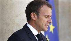 Macron chce trestat země odmítající migranty. 'Nemohou těžit ze solidarity EU a zdůrazňovat národní egoismus'