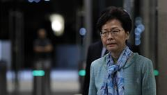 Správkyně Hongkongu zahájí dialog s nespokojenou veřejností. Vláda s tímto krokem prý přichází pozdě
