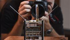 Do vesmíru bude vypuštěna česká vědecká družice Lucky-7. Vyvinuli ji výzkumníci z ČVUT