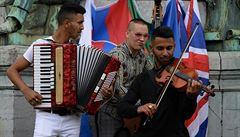 Romové v Bruselu upozorňovali na trvající problémy své menšiny, vlády je prý neposlouchají