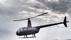 Taxi ve vzduchu. Alternativní služba Uber začala v New Yorku používat vrtulník