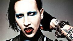 Marilyn Manson má prý prasečí chřipku. Zpěvák to píše na Facebooku