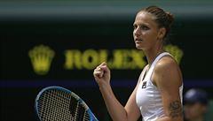 Můj tenis se vždycky zvedne, když jdu na hlavní kurt, těšilo po postupu Plíškovou