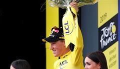 Teunissen zvýšil svůj náskok v čele Tour, jeho tým vyhrál týmovou časovku