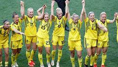 Švédské fotbalistky slaví zisk bronzu z MS. V rozhodujícím zápase zdolaly Anglii