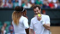 Žádný Federer, žádný Nadal. Každý chce vidět zápas Sereny Williamsové s Andym Murrayem