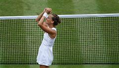 Strýcová je v semifinále Wimbledonu, kde nastoupí proti Williamsové. Muchová končí ve čtvrtfinále
