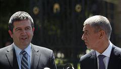 Hamáček napsal Babišovi, že návrh rozpočtu není realistický a neodpovídá vládnímu programu