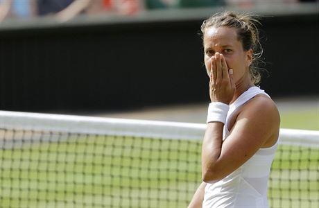 Wimbledon - semifinále Strýcová vs. Williamsová: emoce české hráčky.