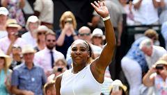 Je konec. Strýcová uhrála v semifinále Wimbledonu proti Williamsové jen tři hry