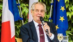 Sněmovna odmítla ústavní žalobu na prezidenta Zemana. Nepodpořily ji ANO, ČSSD, KSČM a SPD