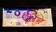 Fanoušci Karla Gotta si mohou pořídit památeční eurovou bankovku s jeho portrétem