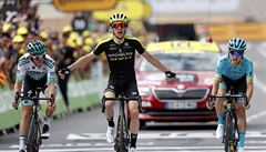 Yates opanoval první pyrenejskou etapu na Tour, žlutý trikot udržel Alaphilippe