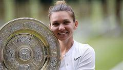 Tenis ji připravil o fůru času i poprsí. Halepová si díky koronaviruuvědomila, co musí změnit