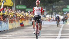De Gendt si po úniku podmanil osmou etapu Tour, do čela se vrátil Alaphilippe